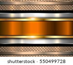 background metallic  shiny... | Shutterstock .eps vector #550499728