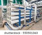 reverse osmosis system for... | Shutterstock . vector #550501363
