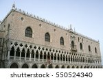 doge's palace. piazza san marco.... | Shutterstock . vector #550524340