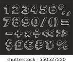 part 3 3. vector hand drawn... | Shutterstock .eps vector #550527220