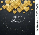 luxury elegant happy valentine... | Shutterstock .eps vector #550528408