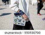 paris october 1  2015. street...   Shutterstock . vector #550530700