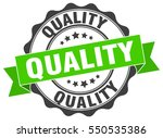 quality. stamp. sticker. seal.... | Shutterstock .eps vector #550535386