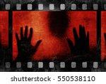 Black Silhouette And Film Stri...