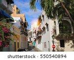San Juan Streets On A Bright...