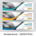 abstract web banner design... | Shutterstock .eps vector #550547014