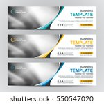 abstract web banner design... | Shutterstock .eps vector #550547020