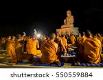 Buddhist Monks Are Chanting...