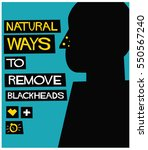 natural ways to remove... | Shutterstock .eps vector #550567240