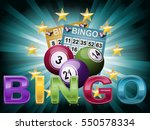 Bingo Ball And Tickets...