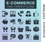 set of pixel perfect e commerce ...