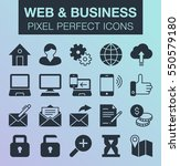 set of pixel perfect web and...