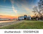 wet'n wild  recreation area...   Shutterstock . vector #550589428