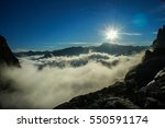 above the clouds | Shutterstock . vector #550591174