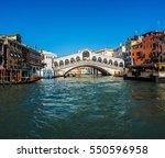 venice  italy   circa september ... | Shutterstock . vector #550596958