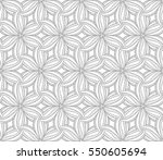 seamless floral pattern | Shutterstock .eps vector #550605694