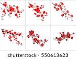 vector illustration. set of...   Shutterstock .eps vector #550613623