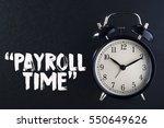 concept alarm clock with... | Shutterstock . vector #550649626