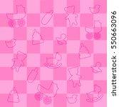 pink background for girl...   Shutterstock .eps vector #550663096