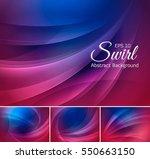 swirl abstract background... | Shutterstock .eps vector #550663150