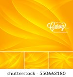 curvy abstract background.... | Shutterstock .eps vector #550663180