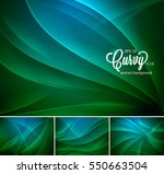 curvy abstract background.... | Shutterstock .eps vector #550663504