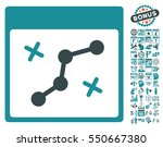 path points calendar page...   Shutterstock .eps vector #550667380