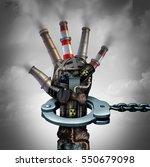 illegal pollution environmental ... | Shutterstock . vector #550679098