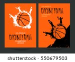 design for basketball. set...   Shutterstock .eps vector #550679503
