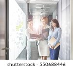 business people in a typical... | Shutterstock . vector #550688446