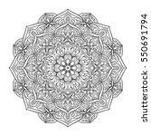 vector illustration dotted... | Shutterstock .eps vector #550691794
