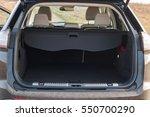 opened empty car trunk. | Shutterstock . vector #550700290
