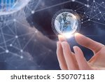 business technology. | Shutterstock . vector #550707118