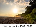 stunning sunset view of... | Shutterstock . vector #550716058