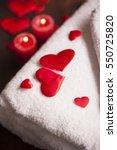 wellness decoration    Shutterstock . vector #550725820