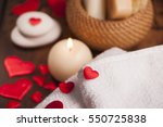 wellness decoration  | Shutterstock . vector #550725838