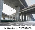 highway overpass | Shutterstock . vector #550787800