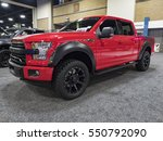 Small photo of CHARLOTTE, NC, USA - NOVEMBER 17, 2016: Ford F-150 Roush SC on display during the 2016 Charlotte International Auto Show at the Charlotte Convention Center in downtown Charlotte.