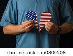 united states of america... | Shutterstock . vector #550800508