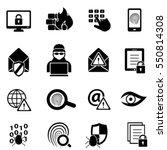 cybersecurity  virus  malware...   Shutterstock .eps vector #550814308