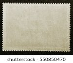 old grunge posted stamp reverse ...   Shutterstock . vector #550850470