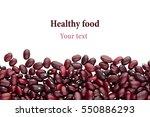 Border Of Red  Kidney Beans...