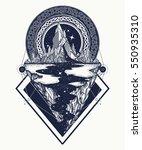 Mountains Tattoo Geometric...