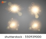 shining star  the sun... | Shutterstock .eps vector #550939000