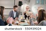female leader reported good... | Shutterstock . vector #550939024