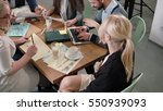 creative business team at the... | Shutterstock . vector #550939093