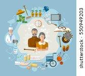 nursing home   social help...   Shutterstock .eps vector #550949203