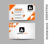 layout template id card for...   Shutterstock .eps vector #550957954