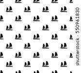 vietnamese junk boat pattern.... | Shutterstock .eps vector #550961830
