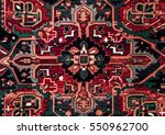 romanian folk seamless pattern... | Shutterstock . vector #550962700